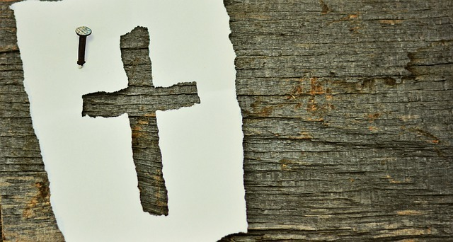 Truthseekers wooden cross