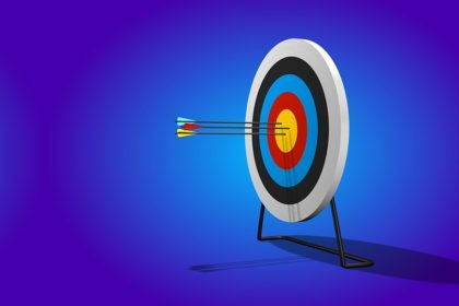 Photo of an archery target in an article about righteousness in Christian living for the Church of Christ website